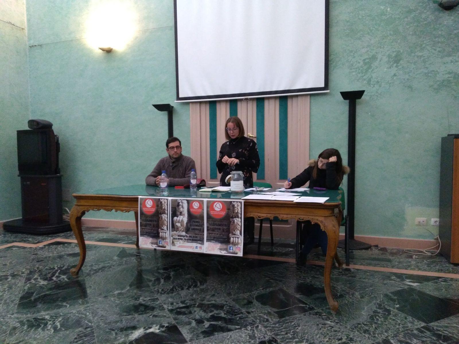 L'assemblea di Archeoclub a Palazzolo Acreide