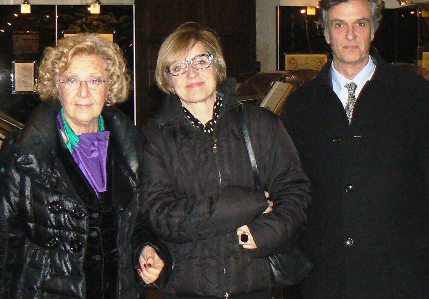 Gringeri Pantano e i rappresentanti di Rovereto