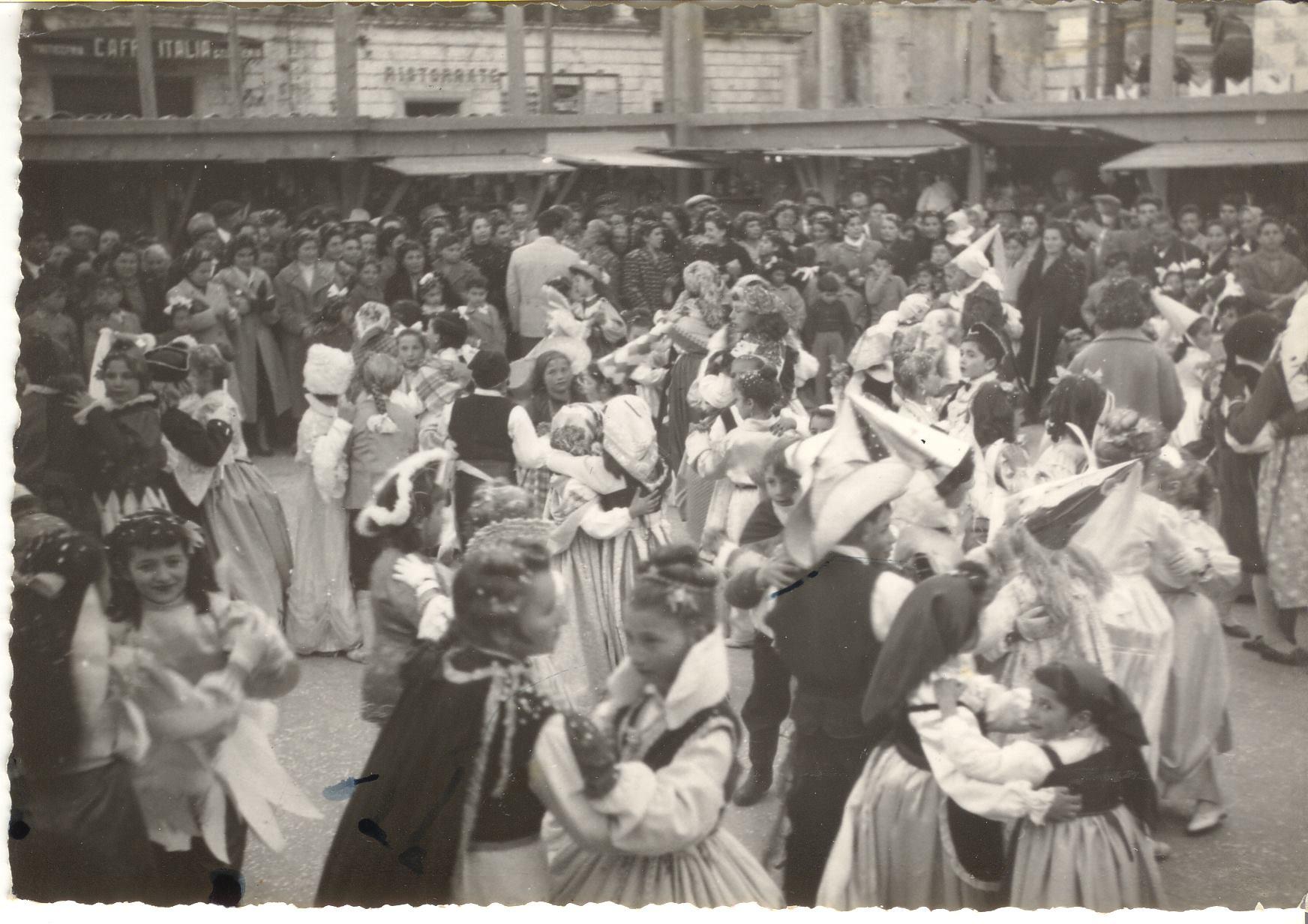 Un'immagine dell'antico Carnevale di Palazzolo