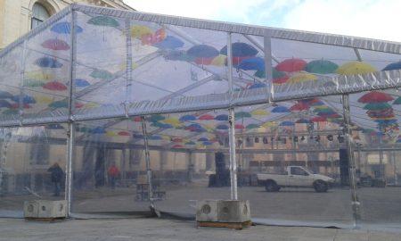 Il veglione in piazza del Popolo a Palazzolo
