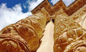 colonne barocche chiesa annunziata