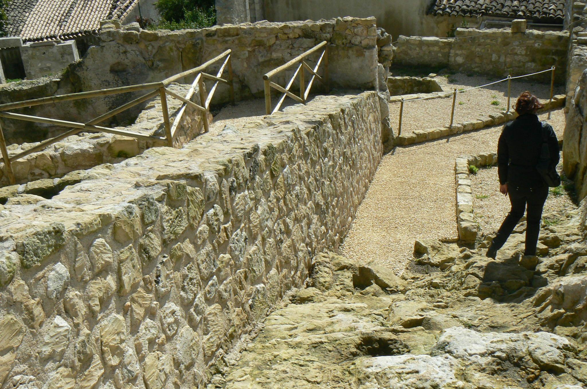 I resti del Castello medievale di Palazzolo