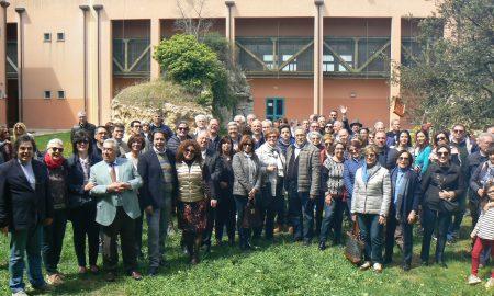 I partecipanti all'Interclub del Rotary a Palazzolo