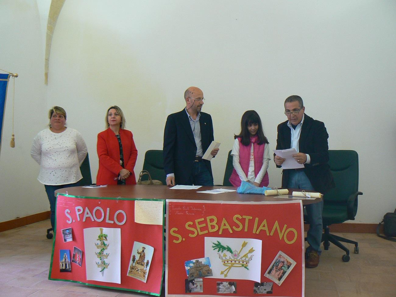 Un'alunna premiata al concorso del Rotary di Palazzolo