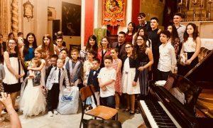 Salvo Nieli con i suoi giovani musicisti