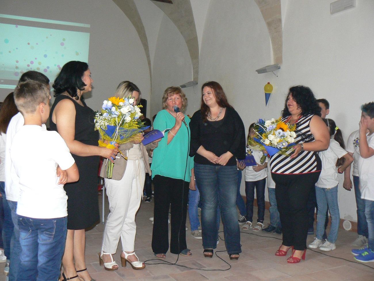 Le docenti coinvolte nel progetto con Adriana Re
