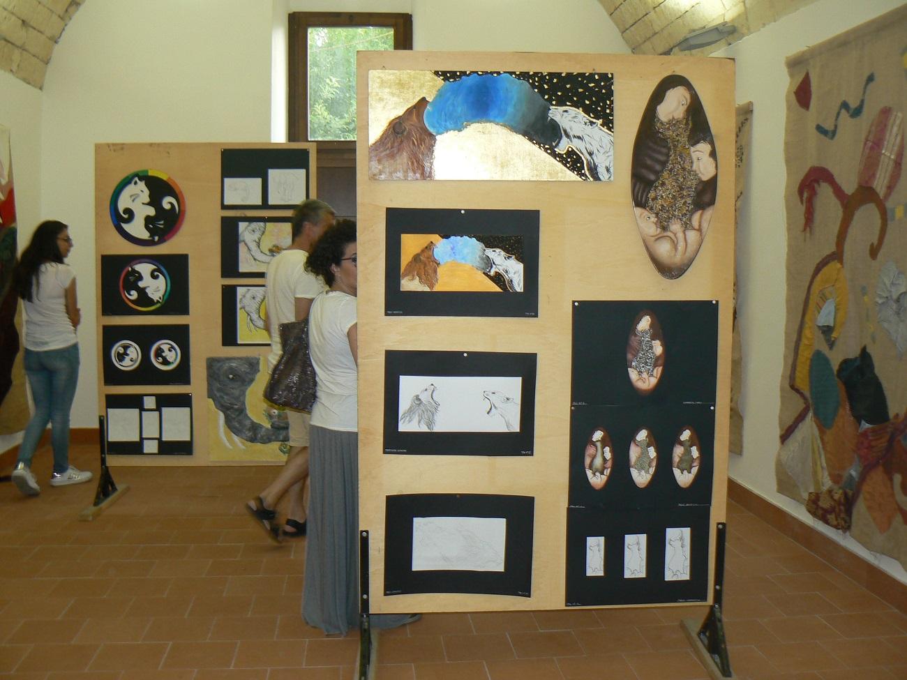 I manufatti realizzati dagli studenti di Palazzolo in mostra al Vaccaro