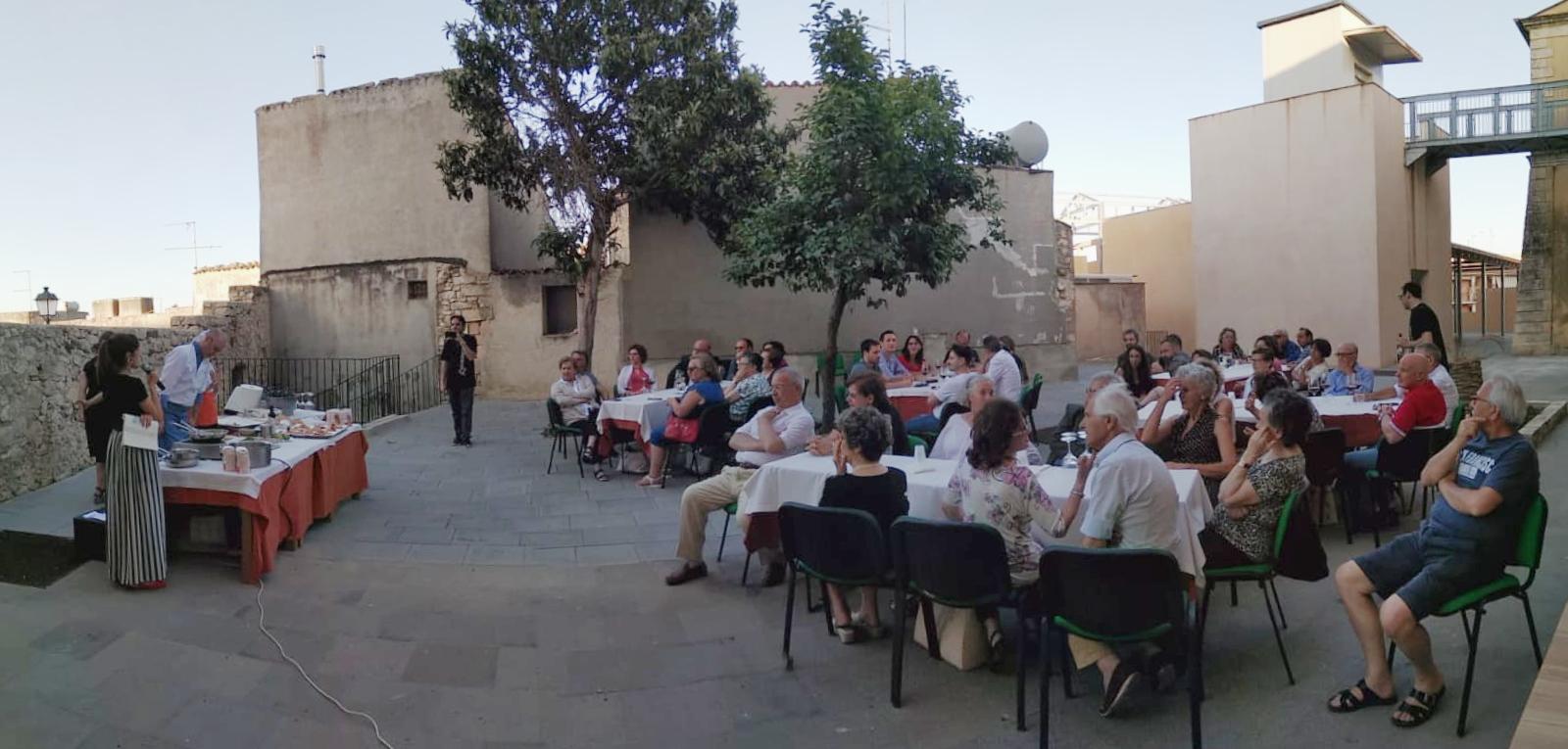 La presentazione dei piatti al Pac di Palazzolo