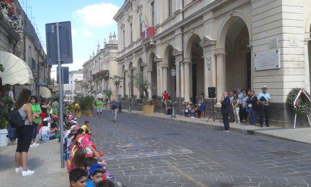 La cerimonia in ricordo del bombardamento di Palazzolo