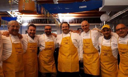 I ristoratori dell'associazione di Palazzolo