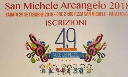 La locandina del Festival dei piccoli del 2018