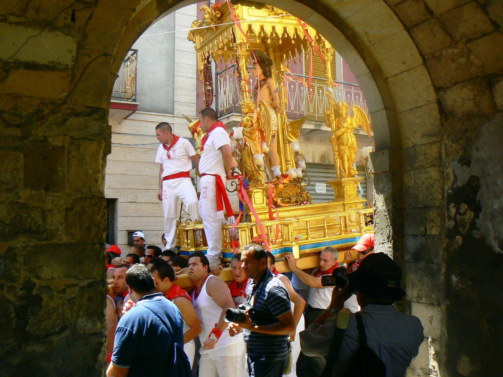 La festa di San Sebastiano a Palazzolo