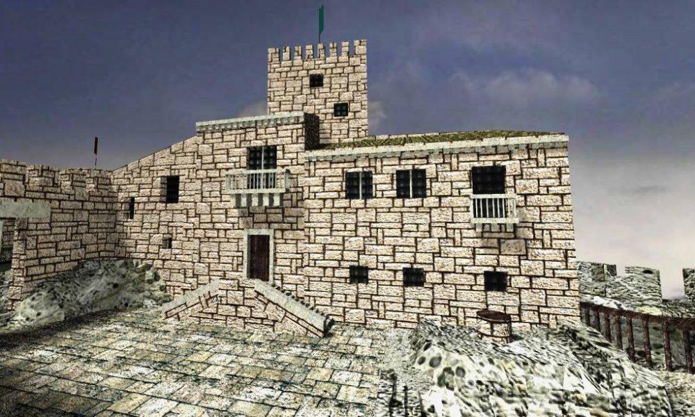 La ricostruzione del castello di Palazzolo