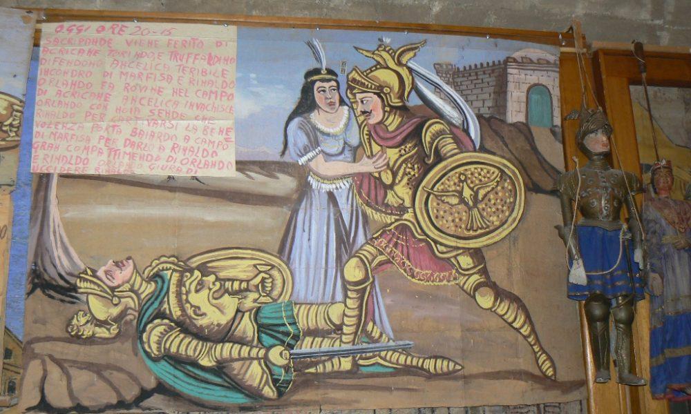 Uno dei pannelli della mostra alla casa museo