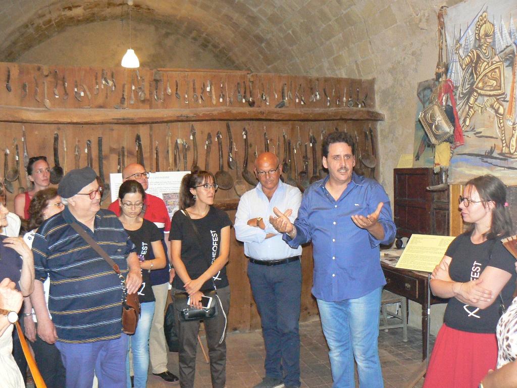 La presentazione della mostra alla casa museo di Palazzolo