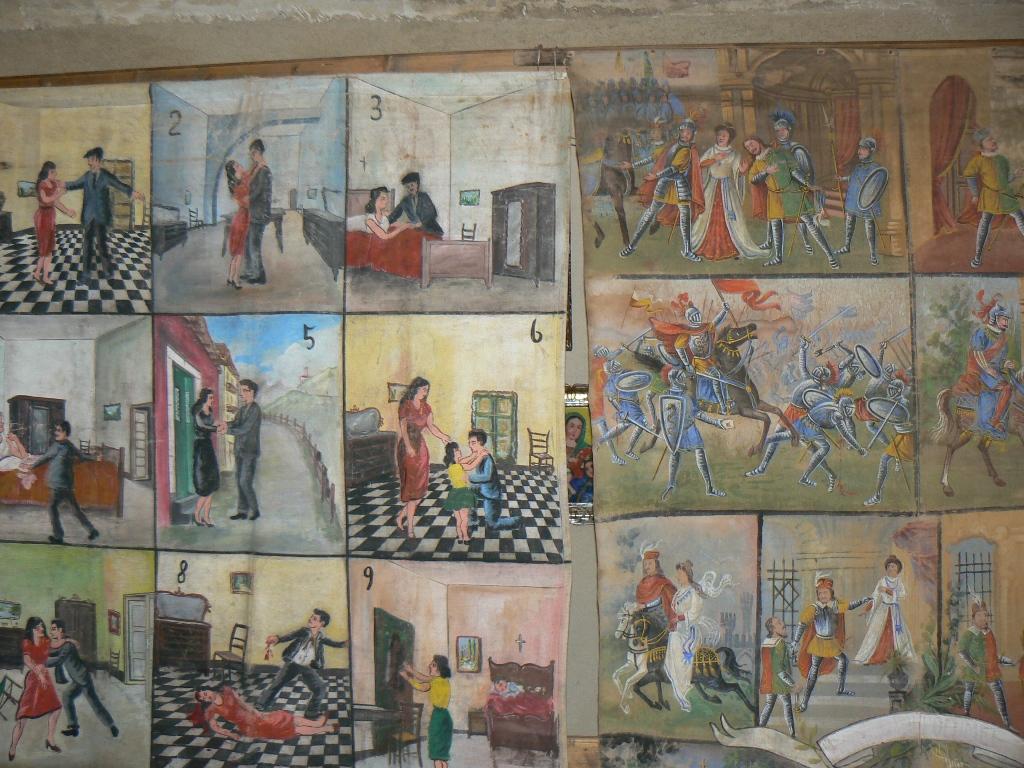 Ancora alcuni pannelli in mostra alla casa museo di Palazzolo