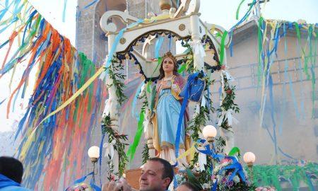 La festa di Santa Lucia di Mendola