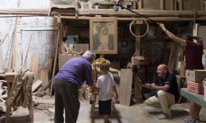 Le prime immagini del documentario su San Sebastiano