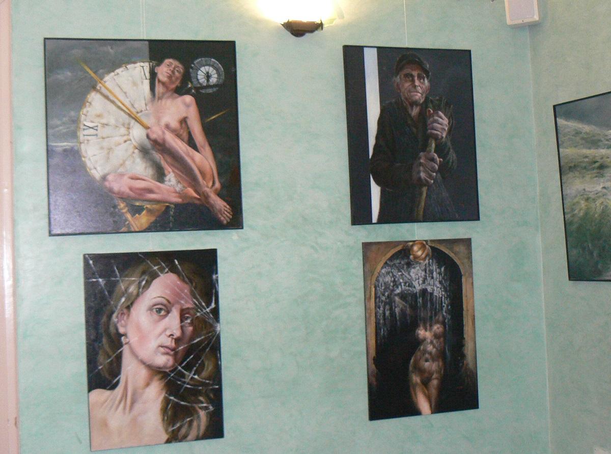 Altre opere in mostra al Municipio di Palazzolo