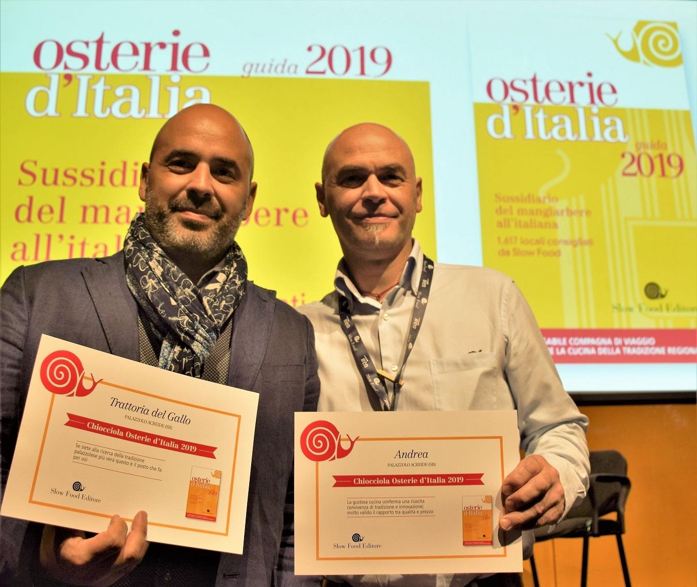 Andrea Alì e Gianni Savasta