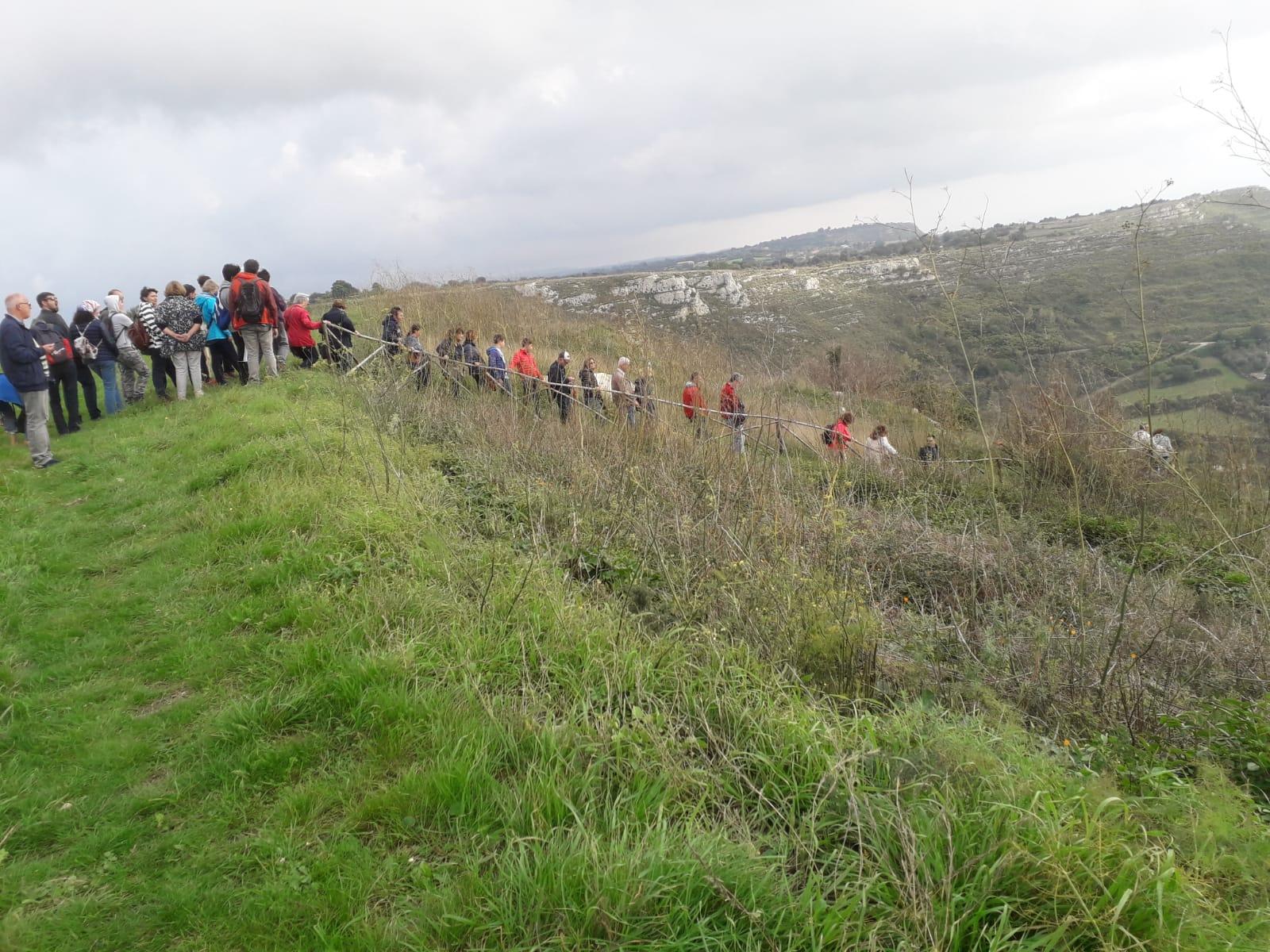 Escursione alla catacomba di Senebardo