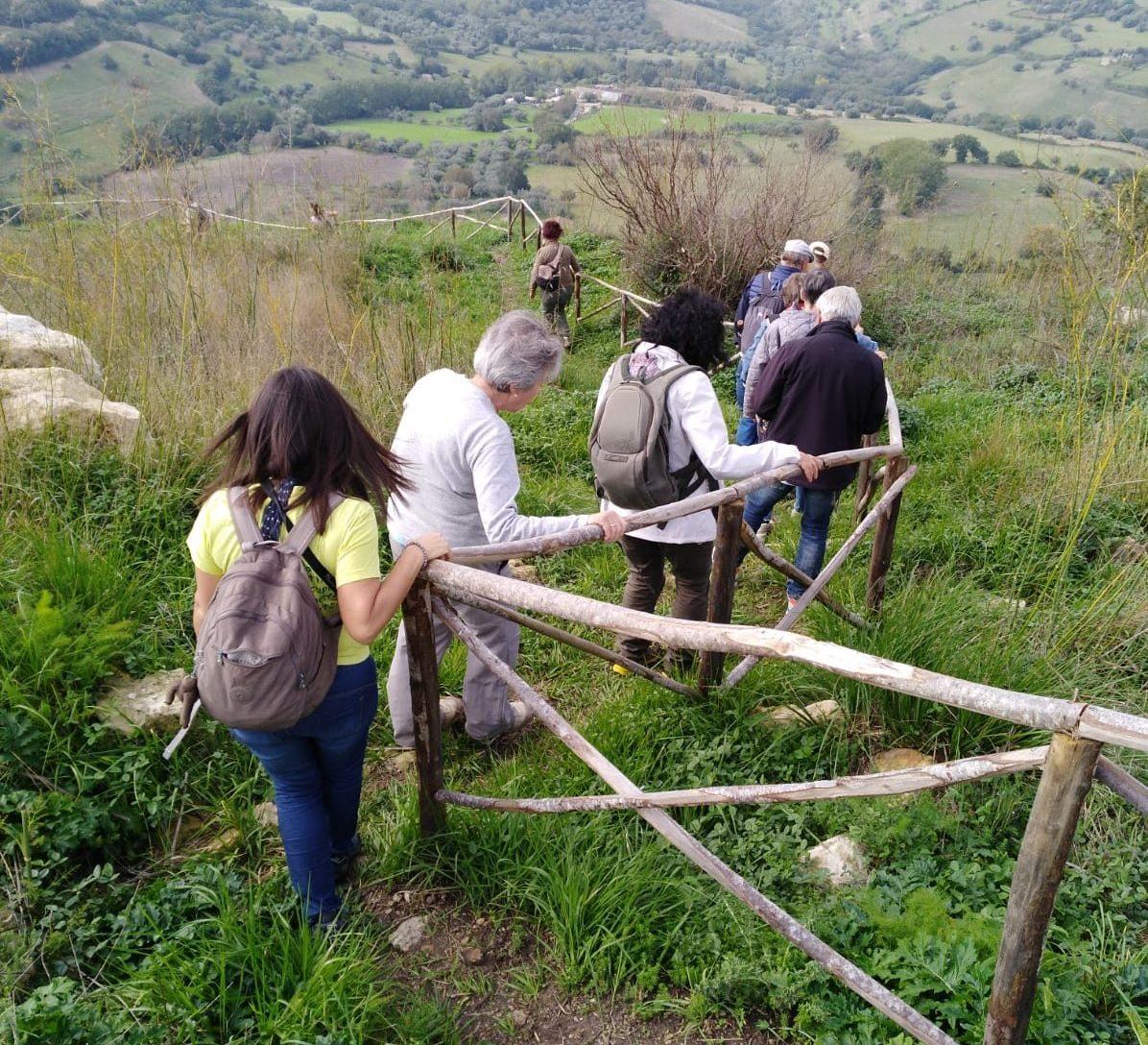 Escursione all'Ipogeo di Senebardo