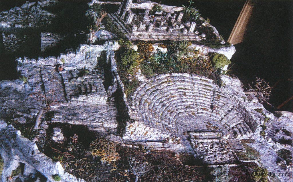 gemellaggio tra palazzolo acreide e sicione - il teatro greco di Akrai