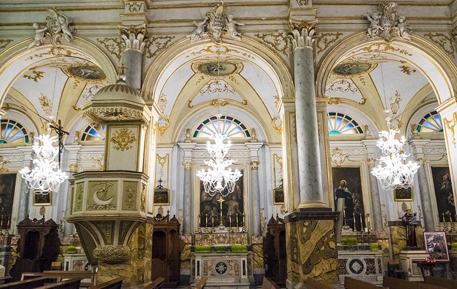 Il rosario in siciliano, la cappella dell'Odigitria