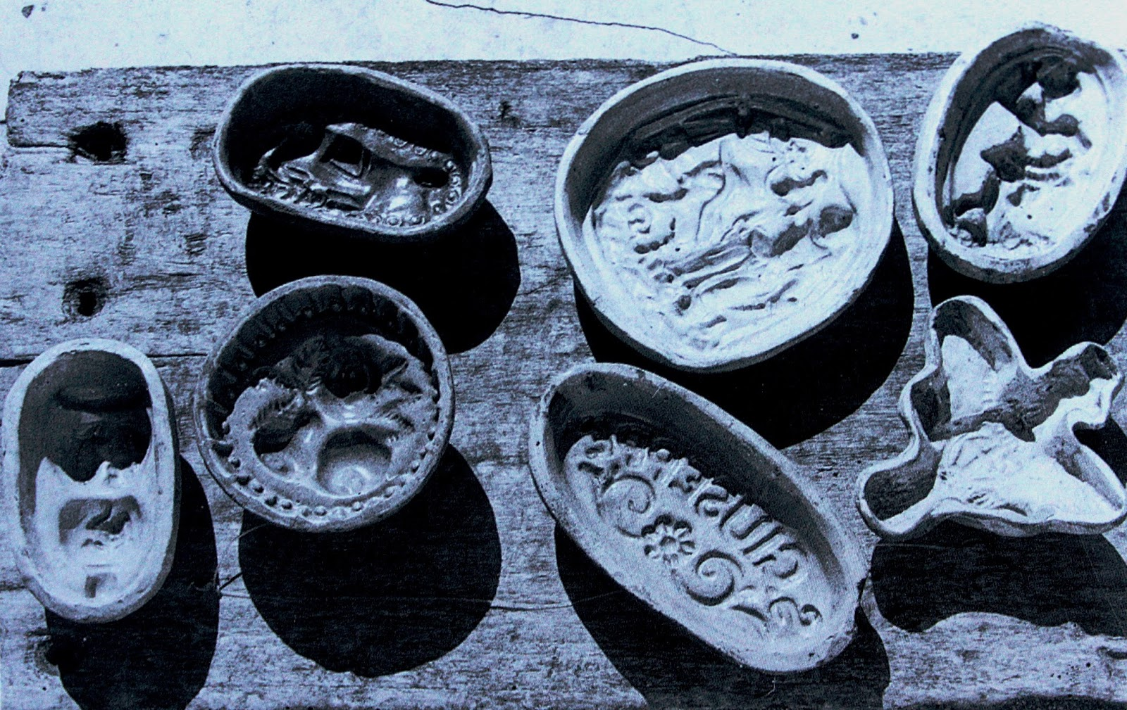 le antiche formelle per la terracotta