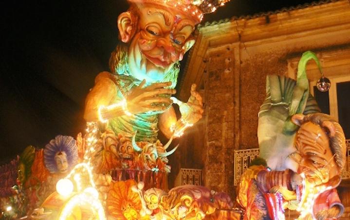 Carro Carnevale Palazzolo