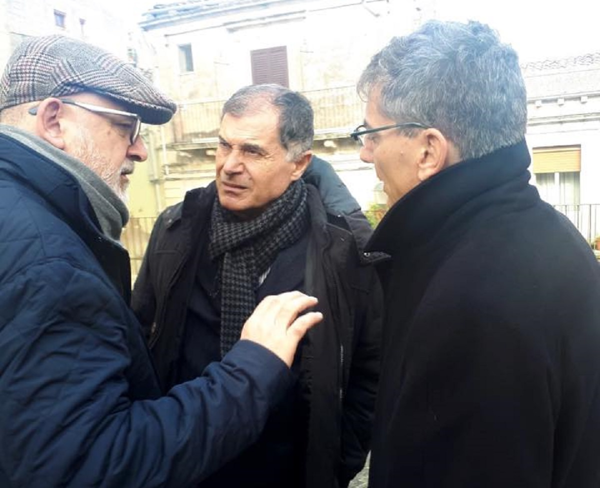 incontro tra Gallo, Giansiracusa e Calbi