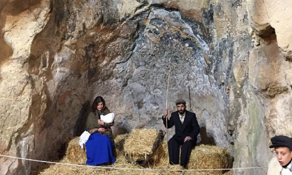 La grotta nel quartiere di San Michele