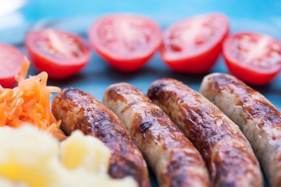 Salsiccia In Tavola