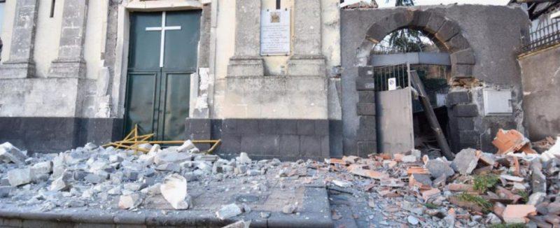 Terremoto Crolli Palazzolo Acreide
