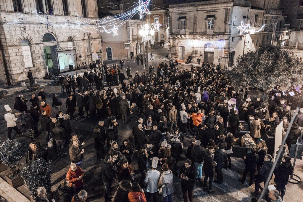 La festa in piazza pretura