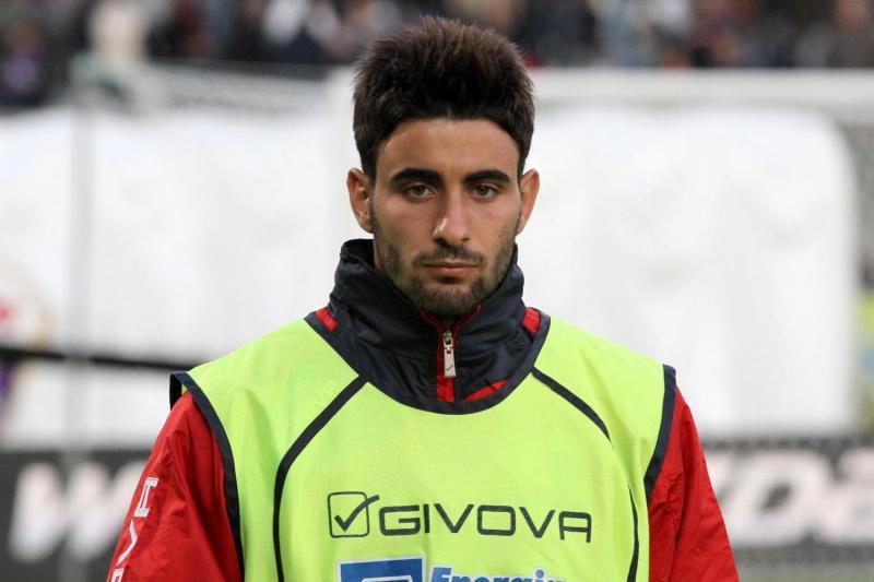 Fabio Sciacca - catania allenamento