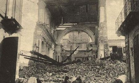 Il terremoto del 1693 a Palazzolo