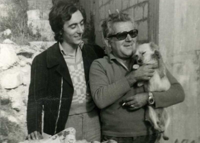Turi Rizza - Cane In Braccio