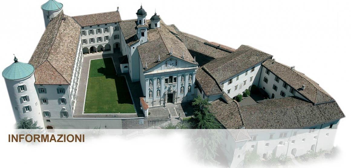 L'esterno del museo di San Michele in Trentino