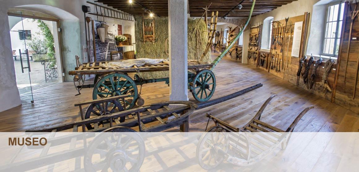 Il museo sale