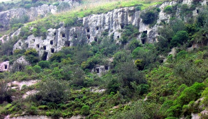 La necropoli di Pantalica