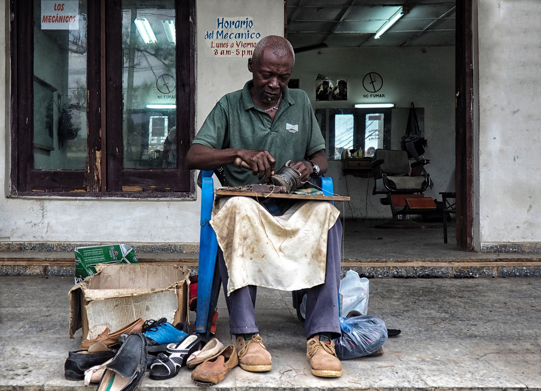 Il calzolaio di Cuba