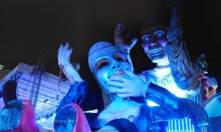 Il carro allegorico vincitore de Il Carnevale di Palazzolo