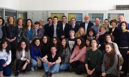 Roberto Di Bella al liceo di Palazzolo