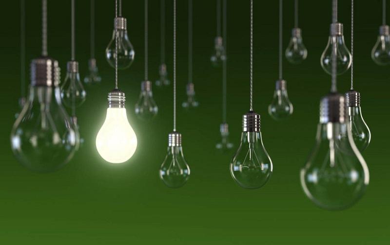 M'illumino di meno - foto di lampadine