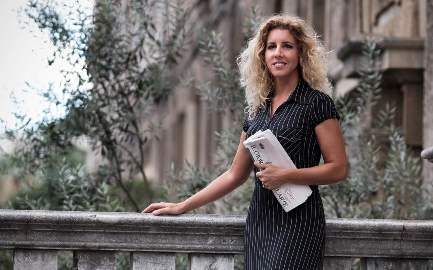 Annunciazione di Antonello - la giornalista Silvia Mazza