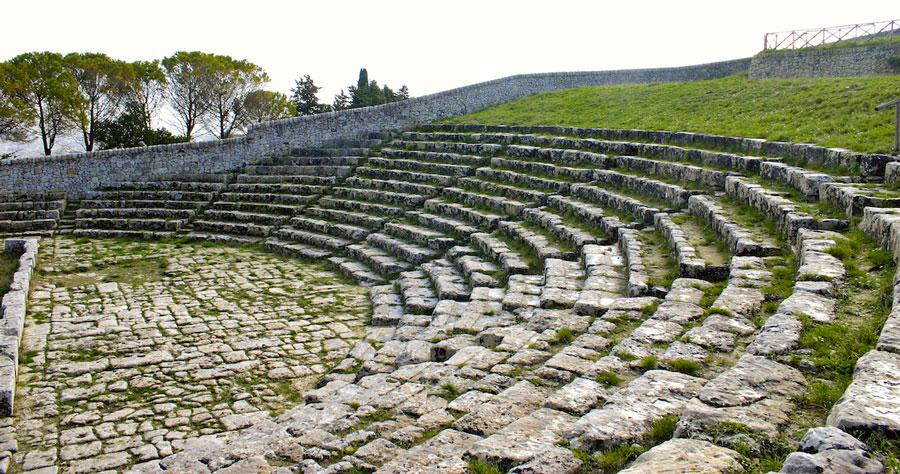L'orchestra del teatro greco di Palazzolo- Offerta culturale