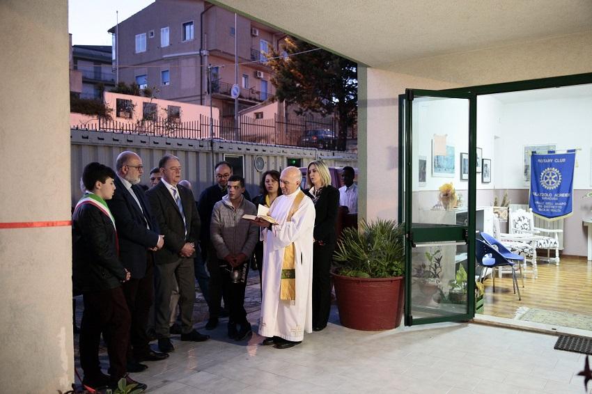 Benedizione Locali Rotary club a Palazzolo