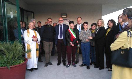 il gruppo del Rotary club di Palazzolo
