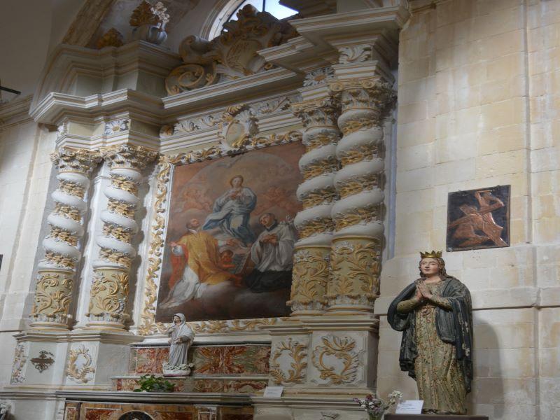 Altare Navata Destra della chiesa madre